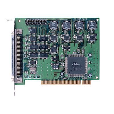 板载4个8254可编程定时器/计数器芯片10通道独立16位递减计数器,1通道